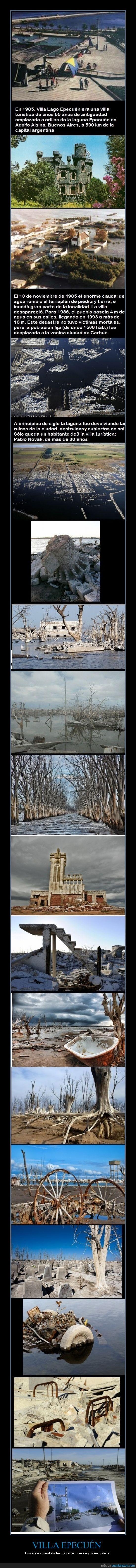 Argentina,catástrofe natural,Villa Epecuén
