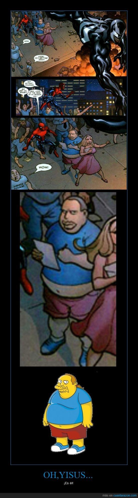 cómic,el de la tienda de cómics,spiderman,venom