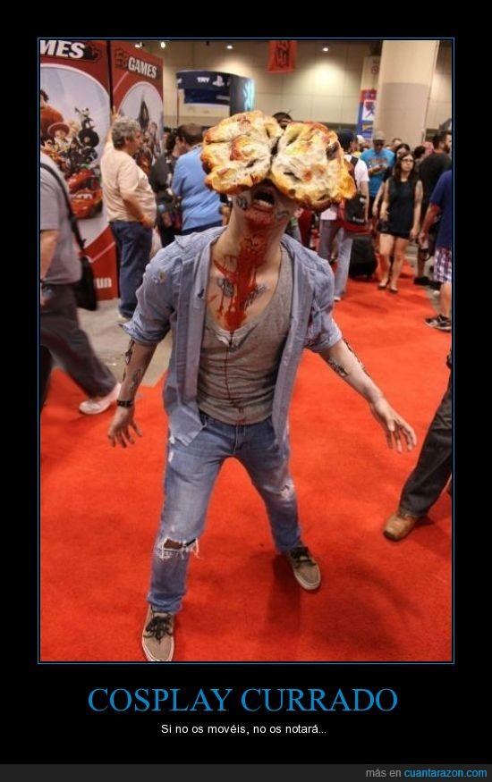cara,chasqueador,clicker,cosplay,hongo,The last of us,zombie