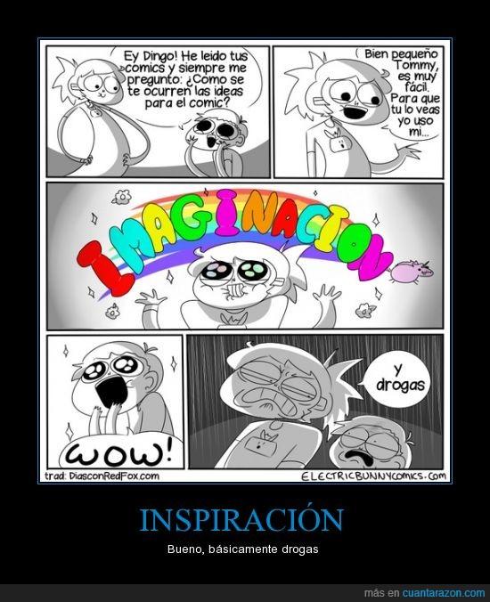 comic,dibujante,drogas,imaginacion,inspiracion