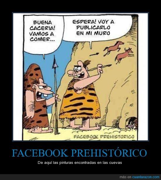 cacería,caverna,facebook,muro,pintar,prehistorico