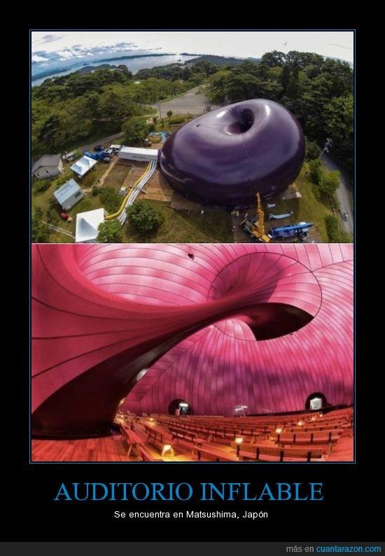 Festival Musical,Japón,Matsushima,Primer Auditorio Inflable,Tsunami