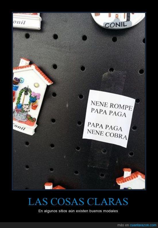 cobra,Conil,nene,paga,papa