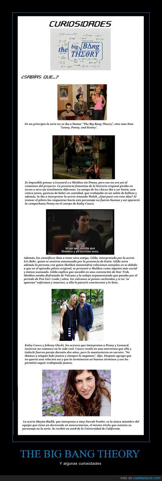Amy,Curiosidades,El capítulo piloto original me dejo boquiabierta,Leonard,Penny,Sheldon,The big bang theory
