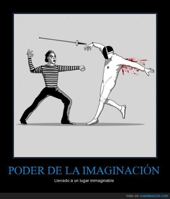 espada,imaginacion,mimo,poder