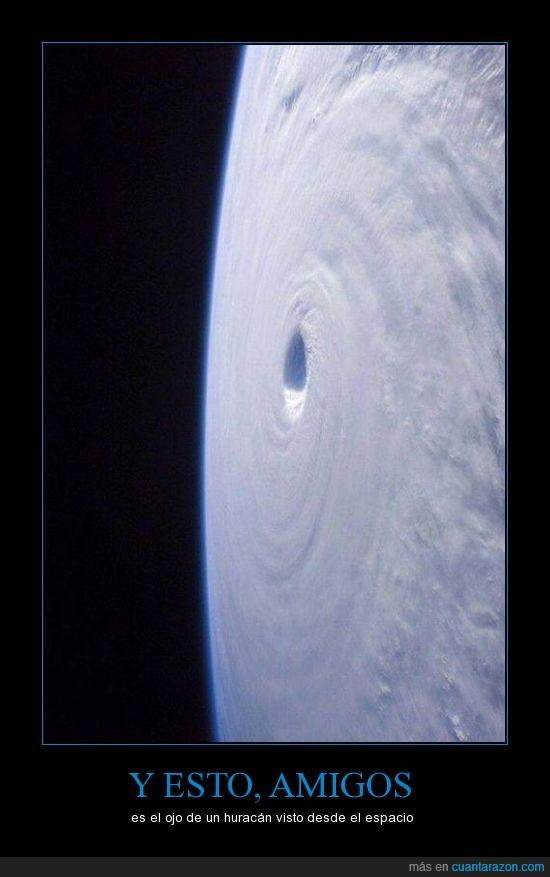 espacio,huracán,naturaleza,ojo,universo