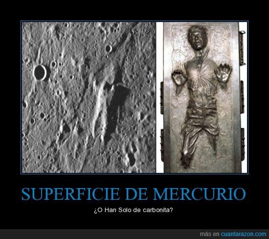 carbonita,foto,han solo,mercurio,star wars,superficie