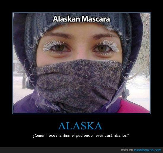 alaska,frio,hielo,nieve,pestañas