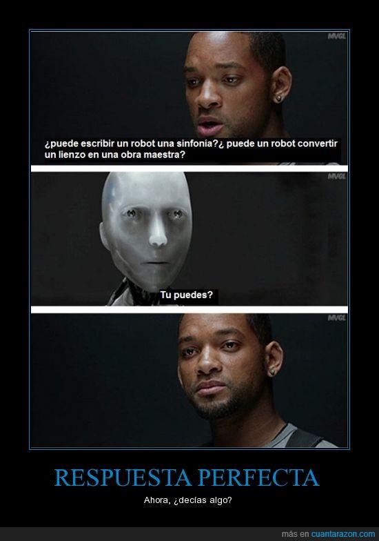 arte,perfecta,respuesta,sinfonia,will smith,yo robot
