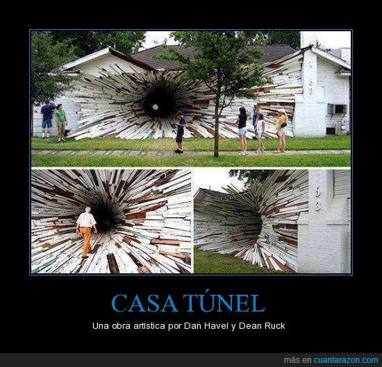 arte,Artística,Casa,Dan Havel,Dean Ruck,túnel