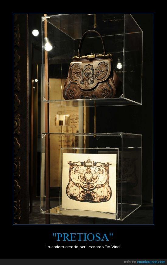 arte,bolso,cartera,Da,Leonardo,Vinci