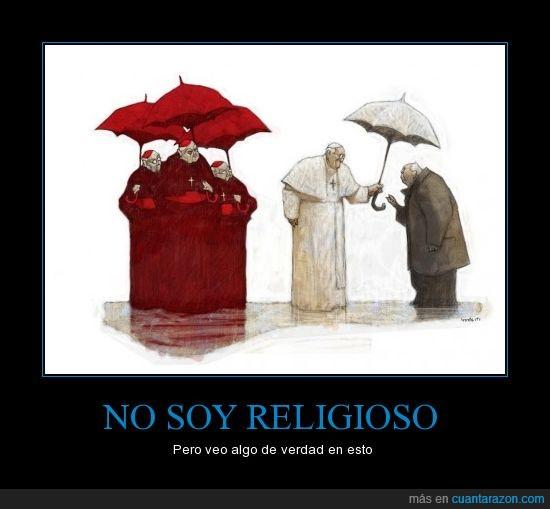 ayuda,católico,fanático,Francisco,iglesia,papa,paraguas,religioso