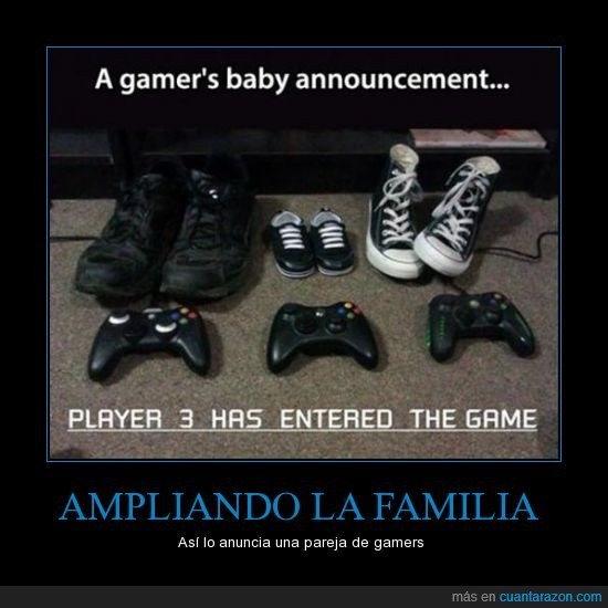 anuncio,bambas,bebe,converse,deportivas,familia,hijo,mando,xbox,zapatos