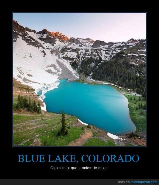 belleza,blue lake,cartel,colorado
