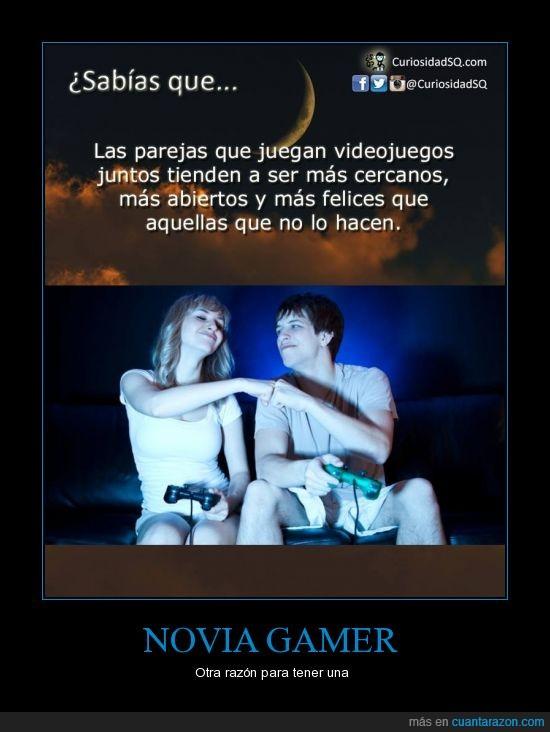 consolas,Gamer,muchas risas,Novia,ps4,videojuegos,xbox
