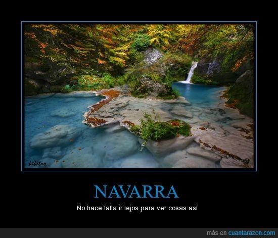 cascada,lago,Navarra,paisaje,río,urederra