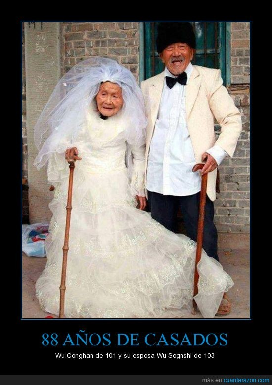 abuela,abuelo,boda,casado,mayor,señor,señora,vestido