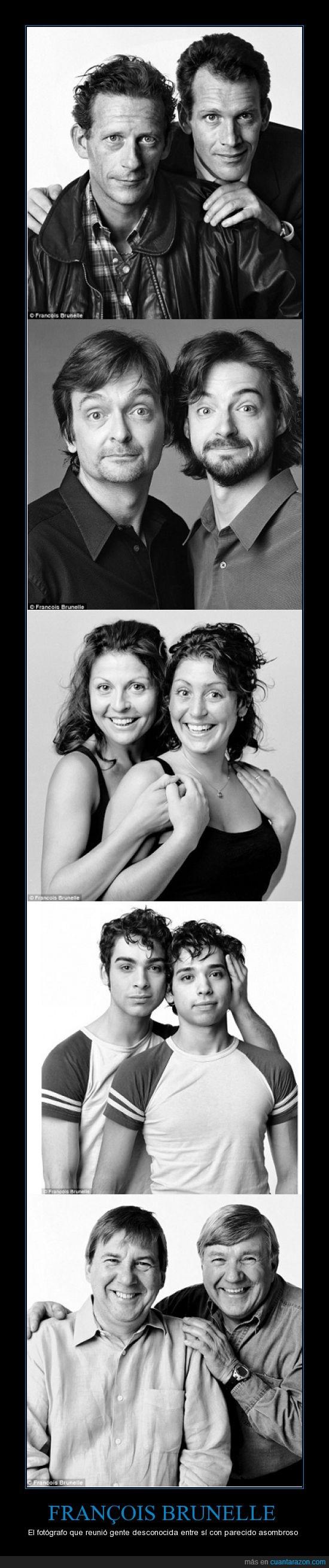 fotografía,gemelos,parecidos,separados al nacer
