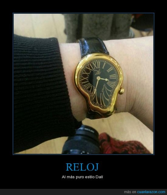Dalí,derretido,derretir,deshacer,estilo,Reloj