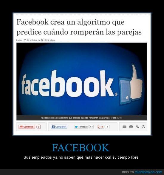 algoritmo,calcular,Facebook,parejas,predecir,romper,Troll