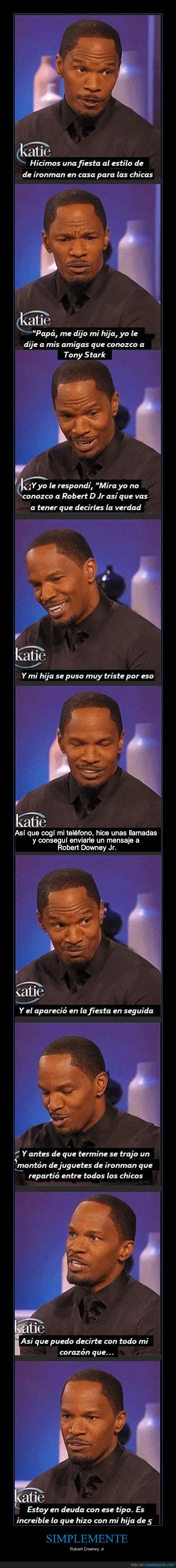 buen tio,iron man,jamie foxx,Robert Downey Jr