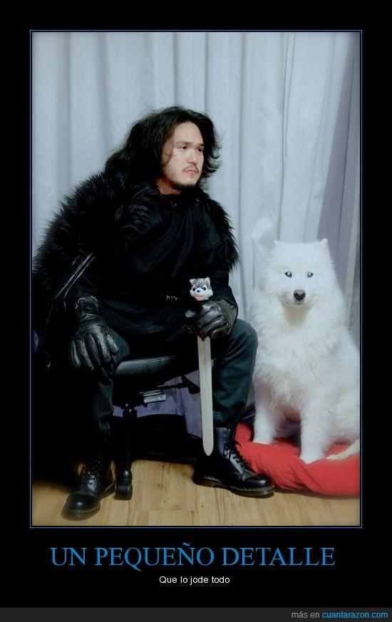brutal la espada,coreano,fantasma,ghost,jon nieve,jon snow,juego de tronos,perro