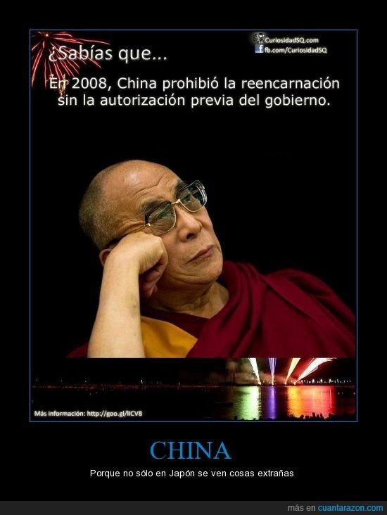 China,prohibición,reencarnacion,reencarnar