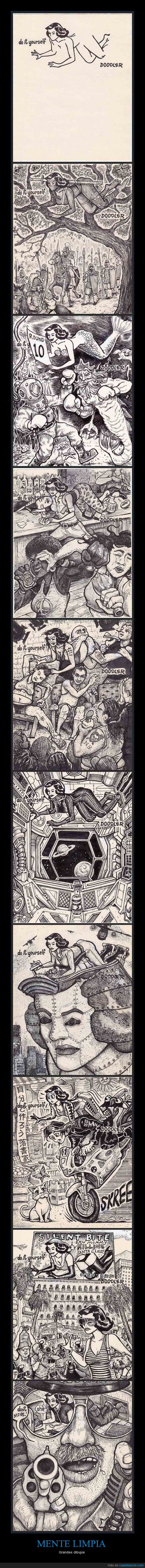 dibujo,erotico,ninja,robo,robot gigante,sirena