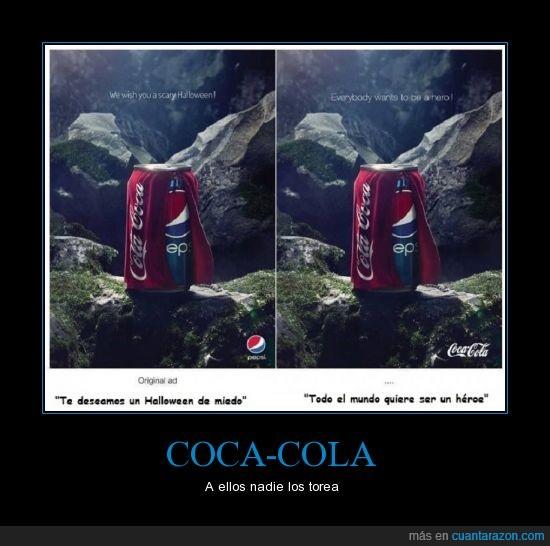 Halloween,Pepsi Vs Coca Cola,Publicidad