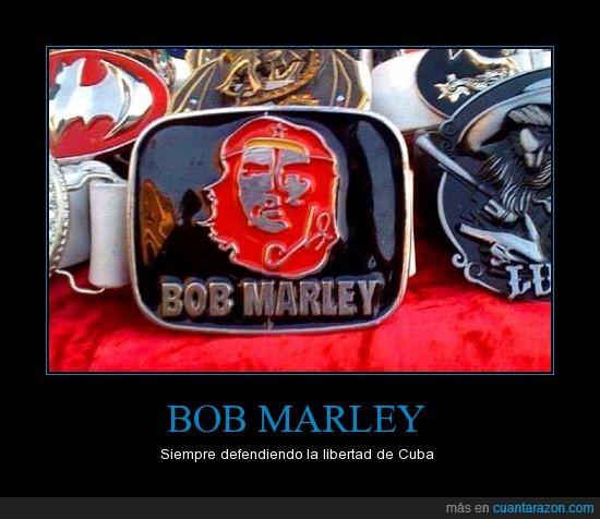 Bob Marley,Ché,cinturon,copia barata,Fail,hevilla