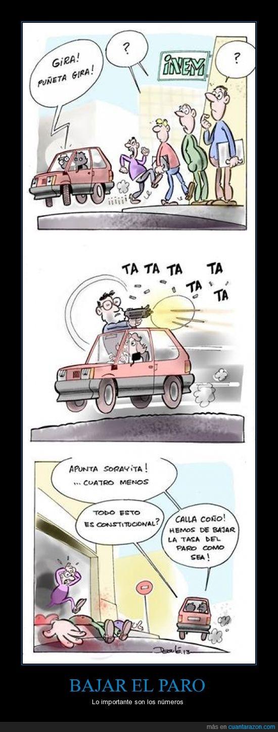 chiste,Desulé,INEM,matar,paro,Rajoy,Soraya