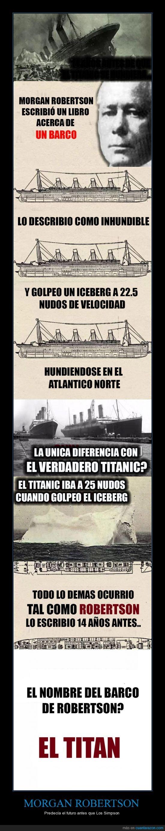 accidente,barco,futuro,hundir,igual,libro,mismo,premonicion,titan,titanic