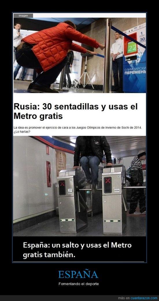 España,metro,olimpiadas,Rusia,Sochi