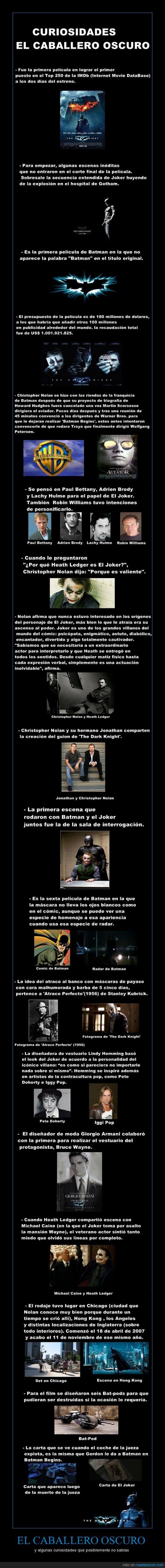 Christopher Nolan,curiosidades,El caballero oscuro,Joker