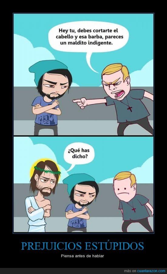 barba,creyente,ideales,ironia,jesucristo,pelo,religion