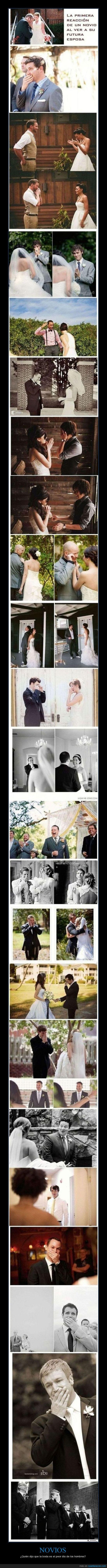 felices,futuras esposas,futuros esposos,lloran,primera reaccion