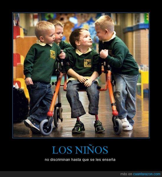 amistad,compañerismo,discriminacion,piernas,protesis,realidad,verdad