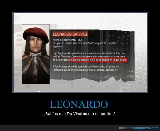 Assassin's Creed 2,CasiMeTerminoElJuego,Estupido y Sensual Leonardo,Ezio Auditore,Leonardo Da Vinci