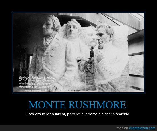 cabeza,cuerpo,idea,monte Rushmore,Presidentes
