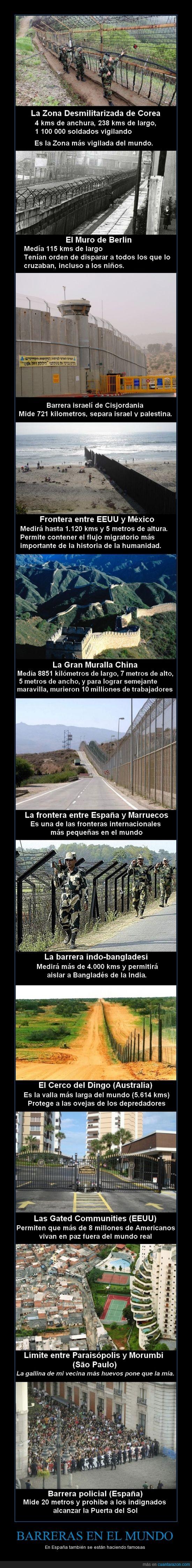 Barreras,españa,fronteras,policia