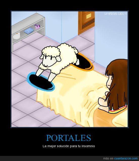 insomnio,oveja,portales,solución