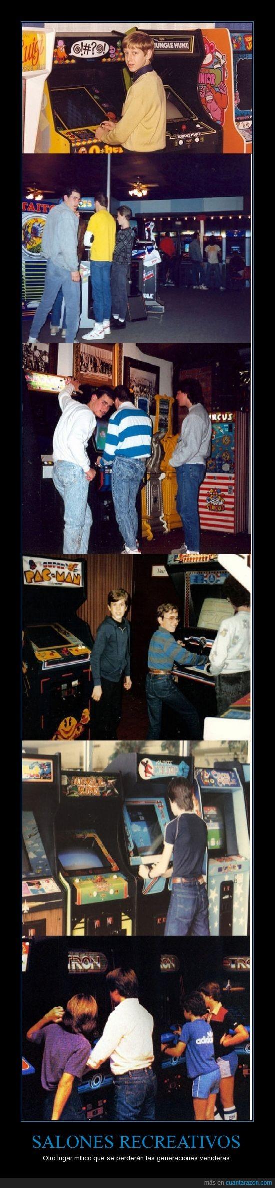 arcade,infacia,infancia,maquinas recreativas,recuerdos,salones recreativos,videojuegos