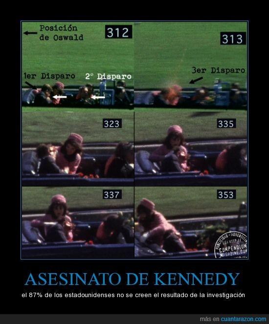 conspiración,el viernes hace 50 años,kennedy,Oswald,Oswald fue a quien acusaron de asesino