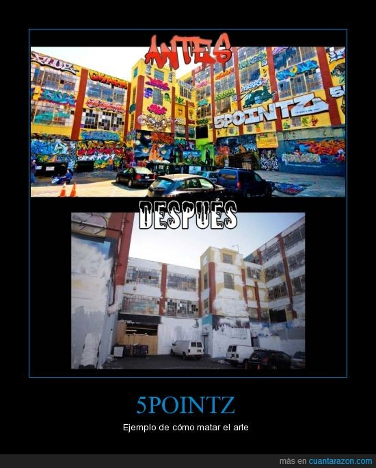 5pointz,antes,arte,después,graffiti,matar,pintura,street