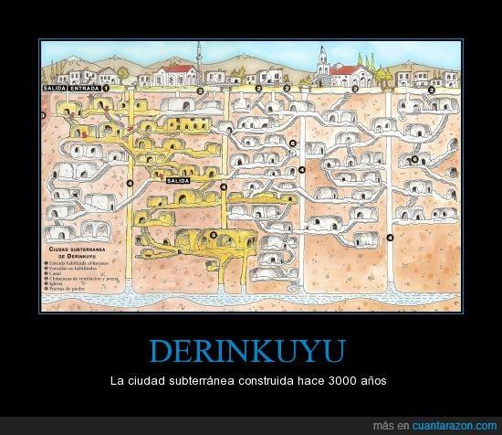 Aliens,Capadocia,Tiene 85 metros de profundidad,Turquía