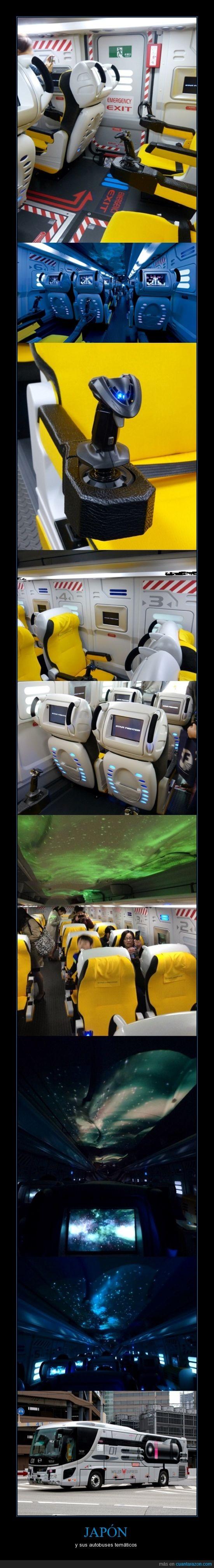 autobus,espacio,Japón,nave espacial,transporte