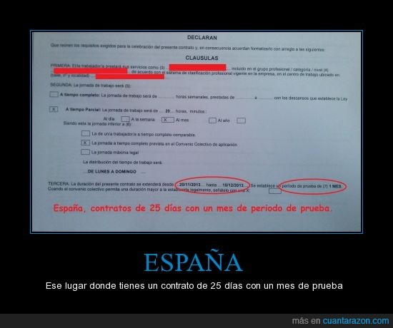 contrato,contrato basura,crisis,Españistan,periodo de prueba,recortes,trabajo