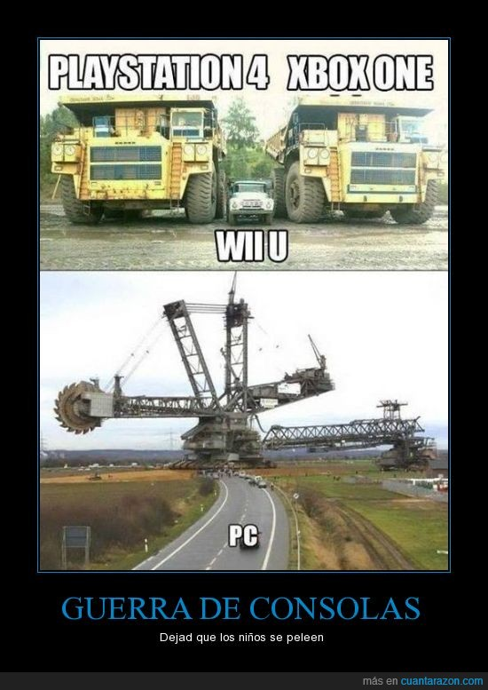 consolas,guerra,pc,ps4,videojuegos,wii u,xbox one