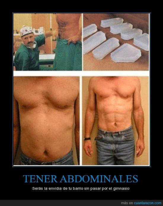 abdominales,ejercicio,estupidez,opercaión
