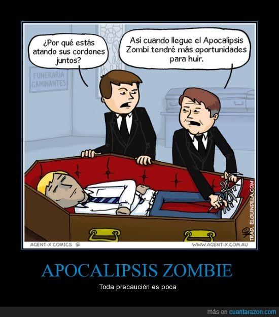 atar,cordones,funeral,muerto,zapatillas,zombie
